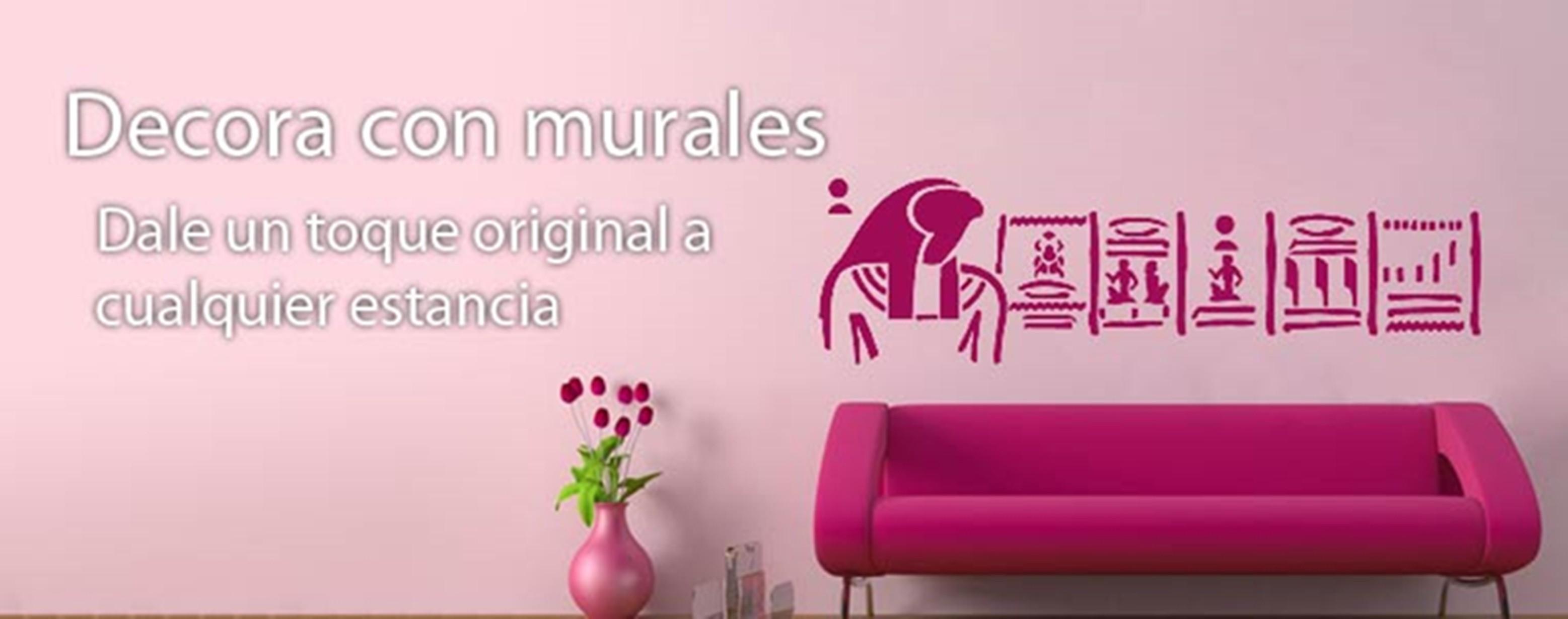 Murales adhesivos decorativos